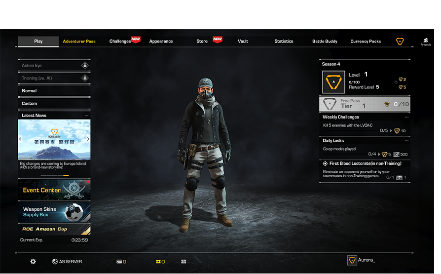 Ring of Elysium Amazon Cup