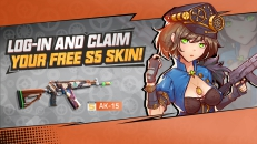FREE Alice-themed Epic AK-15 Skin is waiting for your claim!