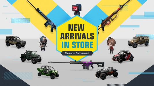 Check out the in-game store for S5-themed new arrivals!