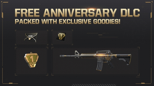 FREE Anniversary DLC- Download today for FREE goodies!