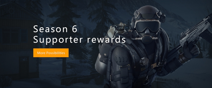 Season 6 Supporter rewards