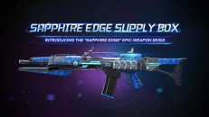Check out our latest Weapon Skin drop- the Sapphire Edge Supply Box!
