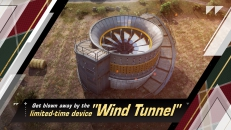 Check out the latest limited-time device on Europa Island- Wind Tunnels!