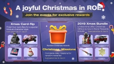 Check out the details for our various holiday events for exclusive rewards!