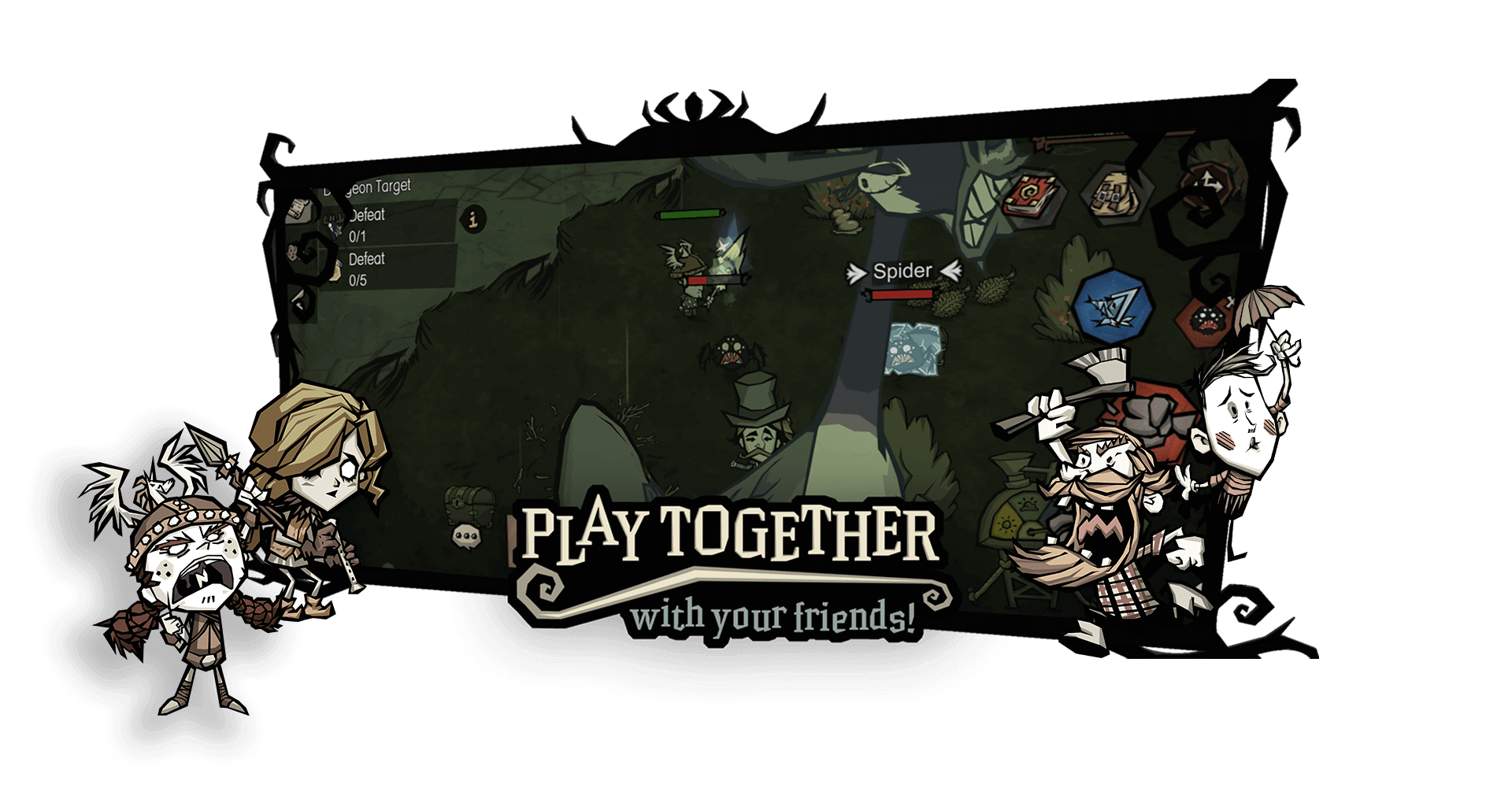 Don't starve play together