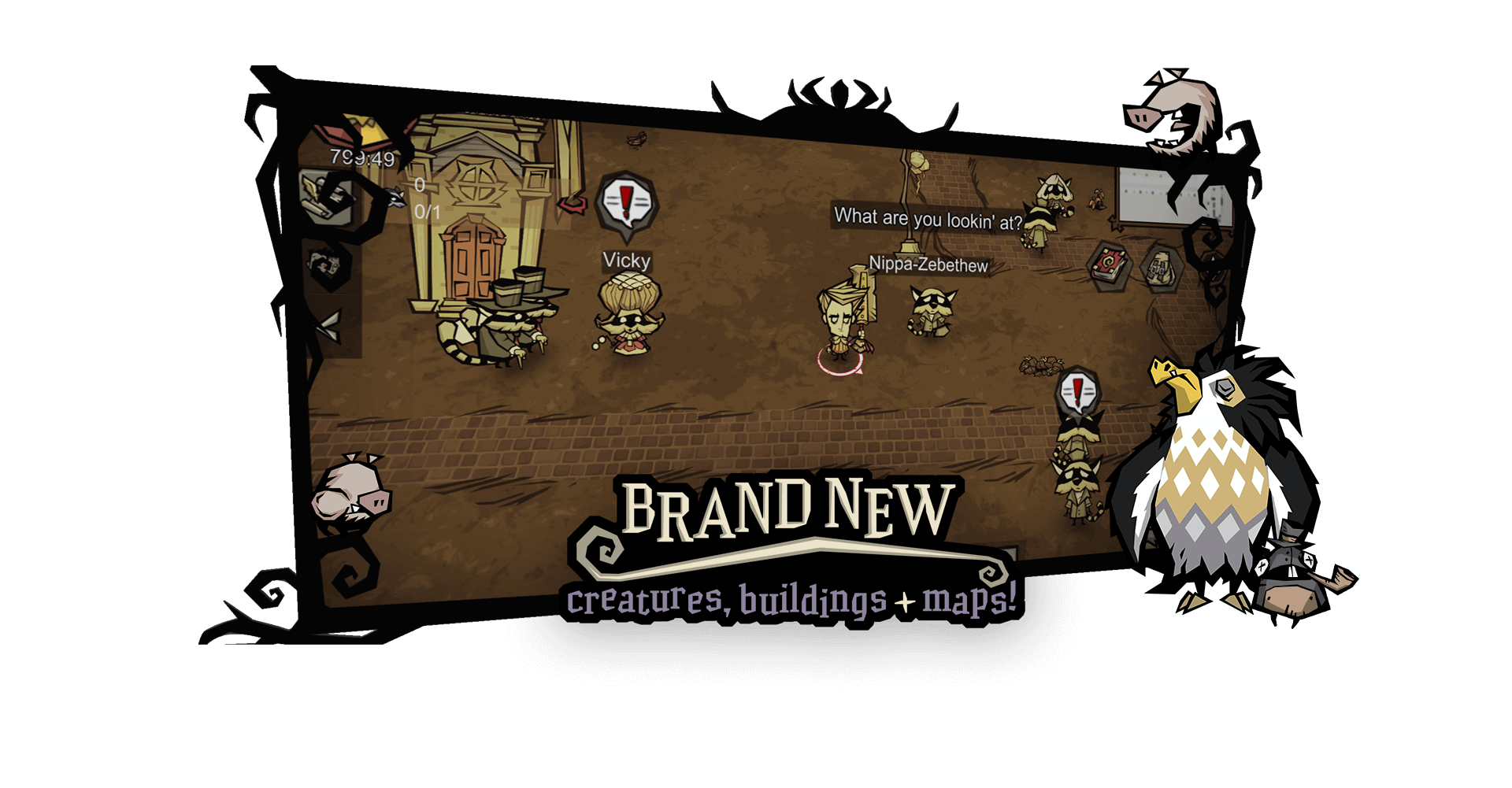 Don't starve brand new