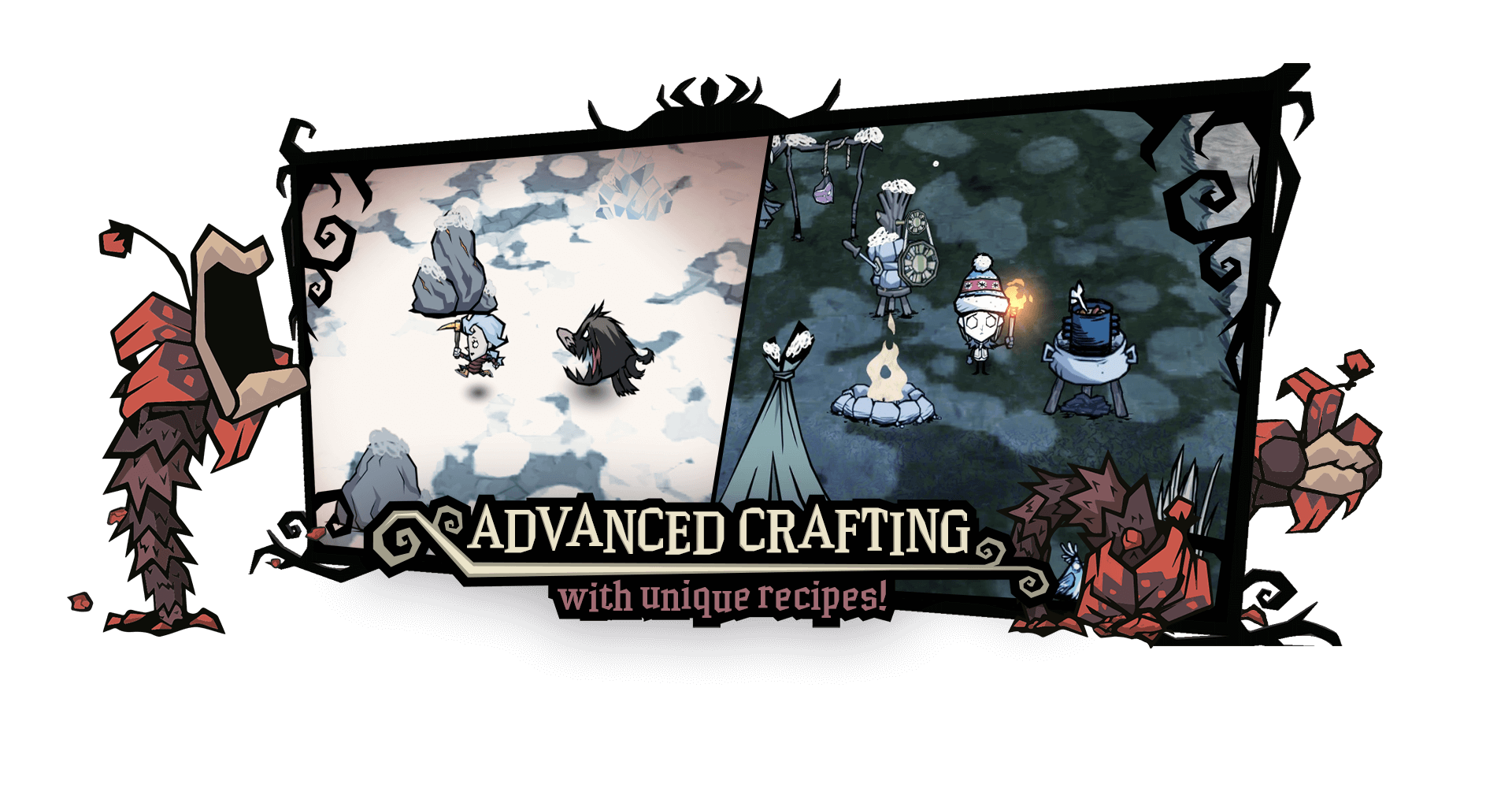 Don't starve advanced crafting new