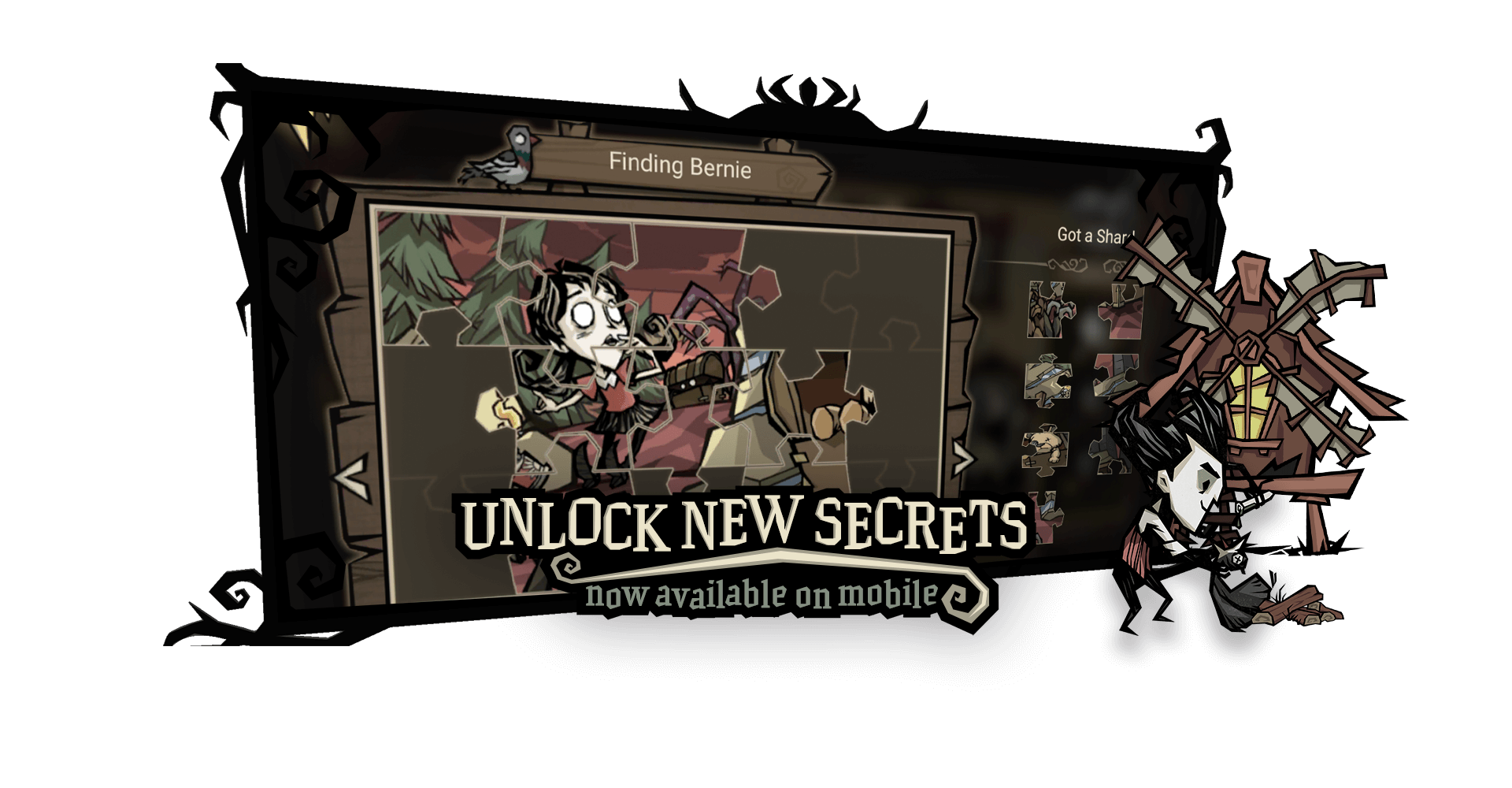 Don't starve unlock new secrets