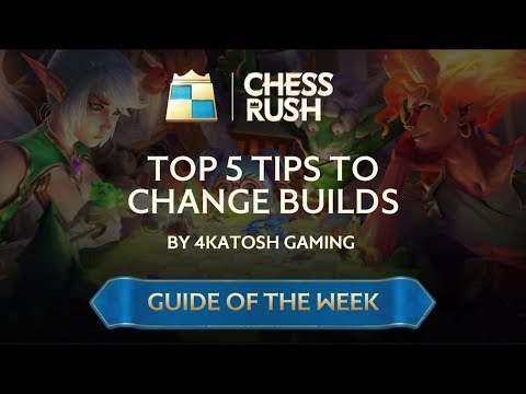 Guide of the Week: Top 5 Tips to Change Builds