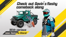 Check out Gavin's flashy comeback along with various new items in Store!