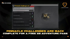 Complete S8 Pinnacle Challenges for a FREE S9 Adventurer Pass!