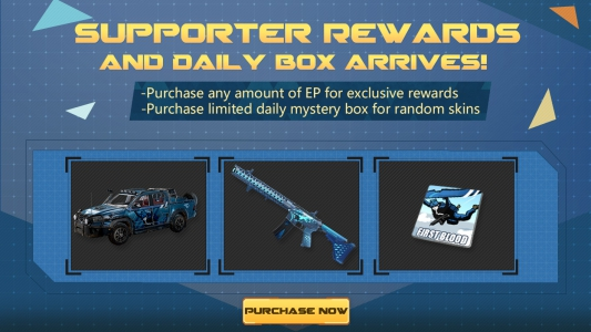 S9 Supporter Rewards and Daily Limit Supply Box are here!