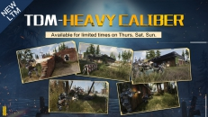 Heavy Caliber TDM - Jump into the action to experience brand-new weapon recoil!