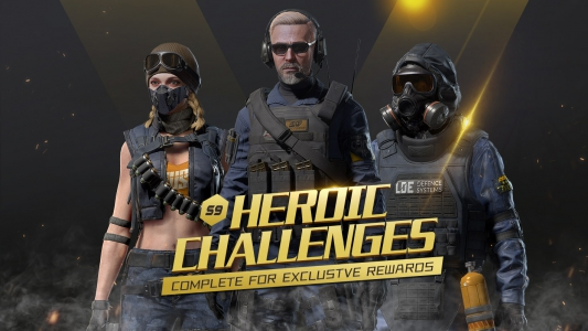 Heroic Challenges are back!